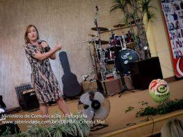 Cristina Mel na Pib Trindade
