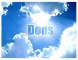 Deus escolhe os nossos dons