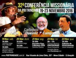 32ªCONFERÊNCIA MISSIONÁRIA