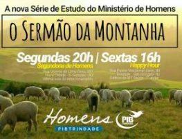 A NOVA SÉRIE DE ESTUDO DO MINISTÉRIO DE HOMENS