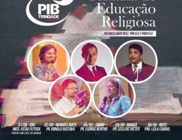 SEMANA DE EDUCAÇÃO RELIGIOSA