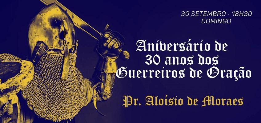 CULTO DIA 30 DE SETEMBRO