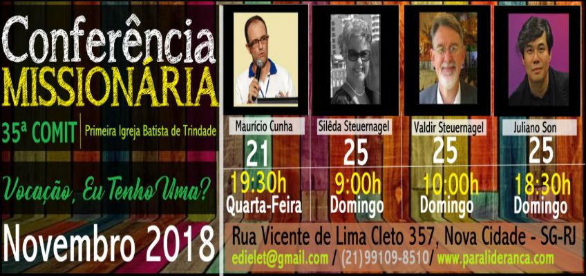 CONFERENCIA MISSIONÁRIA