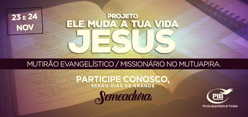MUTIRÃO MISSIONÁRIO
