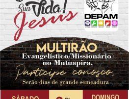 """PROJETO """"ELE MUDA A TUA VIDA – JESUS!"""""""