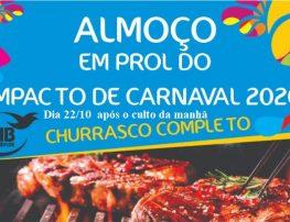 ALMOÇO EM PROL DO IMPACTO DE CARNAVAL 2020