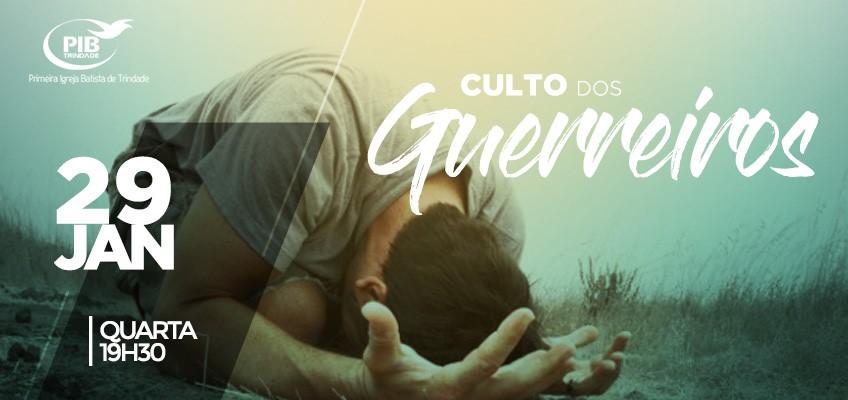 CULTO DOS GUERREIROS