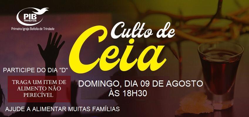 CULTO DE CEIA